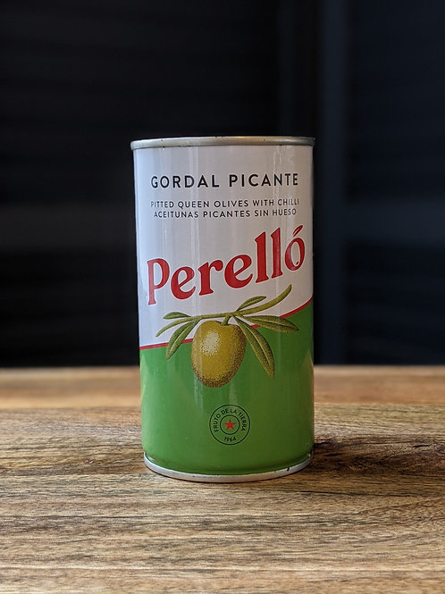 Perello  Canned Olives w/ Chilli