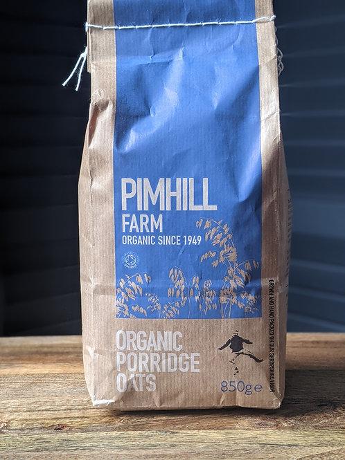 Pimhill Porridge Oats Organic 850g