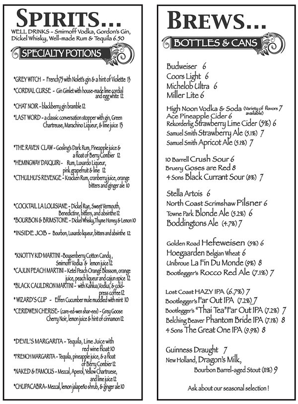 Cauldron Menu2 March 2002.jpg