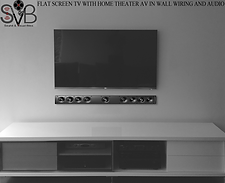OPTION 2 WITH 5CH ON WALL SPEAKERS SOUNDBAR