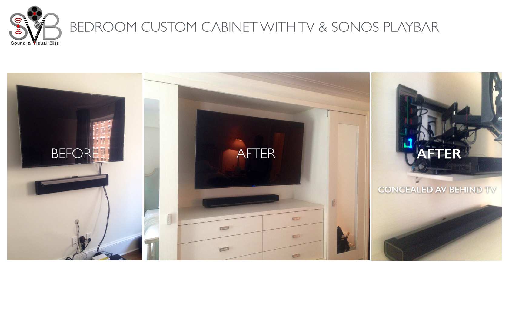 BEDROOM CUSTOM CABINET