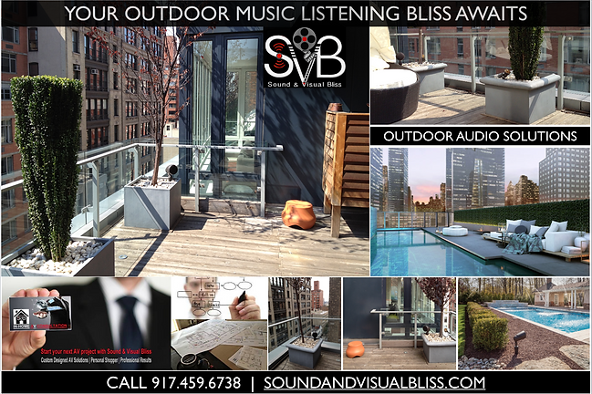 outdoor audio poster