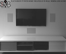 OPTION 1 WITH 3 IN WALL SPEAKERS