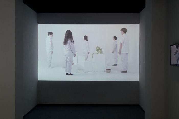 정혜진, 일상행동의재분화x5, 2017.jpg