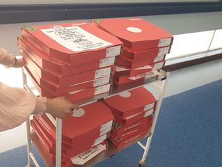 COVID-19 Team visits Basildon Hospital