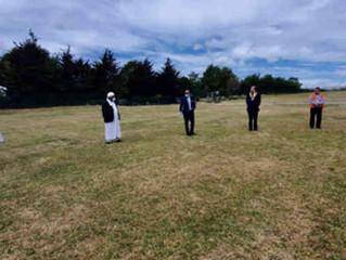 NASFAT GTB joins Thurrock Council at land dedicated for Muslim burials