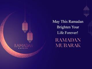 Ramadan Mubarak from the Ramadan Committee