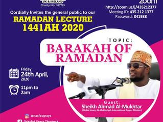 Ramadan Lecture