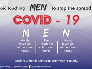COVID-19 advice from NASFAT