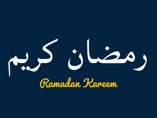 Ramadan Kareem from the Zonal Missionary