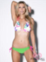 Flirt, Neon Finger Paint Bikini