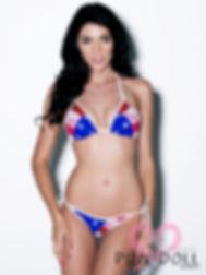 Star Spangle, Red, White, and Blue Bikini
