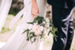 Summer Bridal Bouqet and Buttonhole