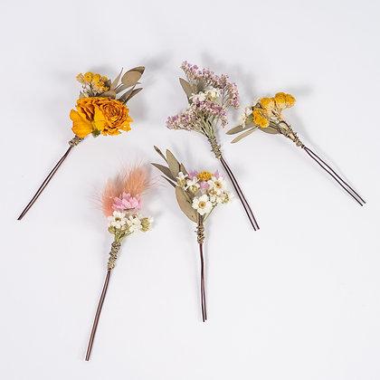 Frond & Bloom's Eternal Bridal Range, 5 x Hair Pins