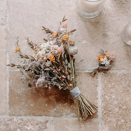 Frond & Bloom's Eternal Bridal Range, Meadow Buttonhole