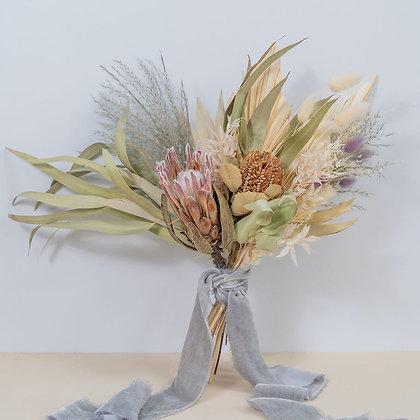 Frond & Bloom's Eternal Bridal Range, Savanna Bridesmaid Bouquet
