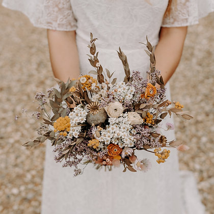 Frond & Bloom's Eternal Bridal Range, Meadow Bouquet