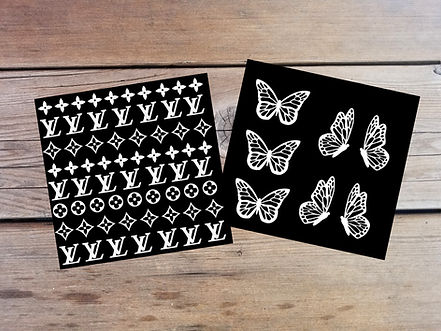 Background with LV and Butterfly Combo P