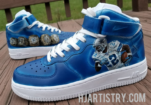 c394f443a6 Dallas Cowboys Air Force 1 Lows/Mids/Highs or Air Max 90s with Emmitt Smith