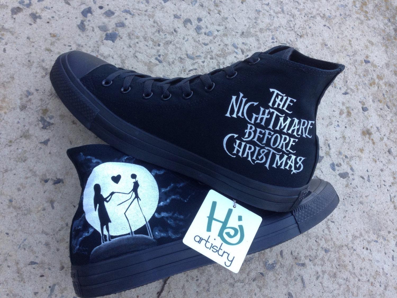 Bestellung angenehmes Gefühl akzeptabler Preis Nightmare Before Christmas Vans or Converse
