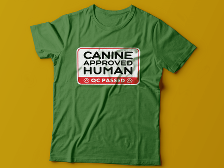 'Canine-Approved Human' T-shirt