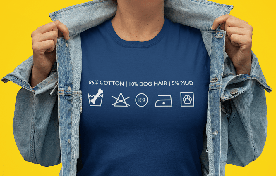 funny cool dog lover t-shirt gift for dog moms and dog dads