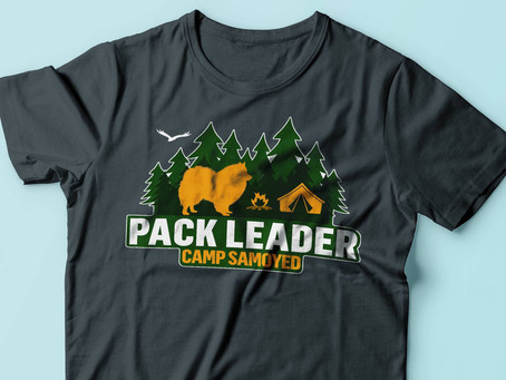 Packleader T-shirt for dog-loving campers