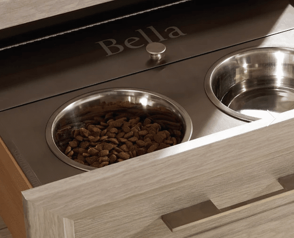 top ten dog hacks hide dog bowls in your kitchen drawer