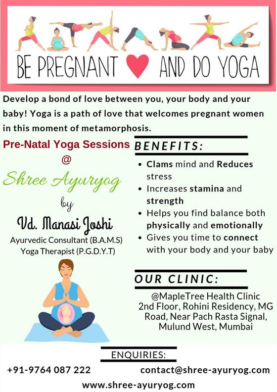 Pre-Natal/ Pregnancy Yoga