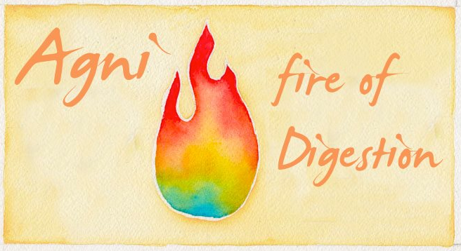 Agni fire of digestion