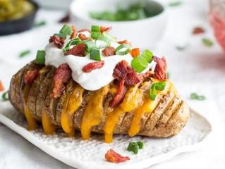Hasselback Batatas