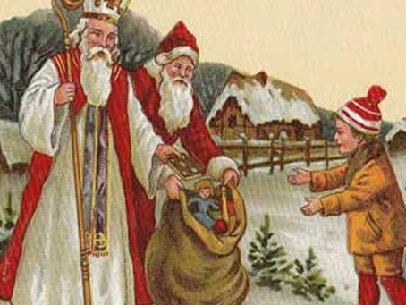 Babbo Natale, Santa Nicola, coccinelle e … denti da latte.