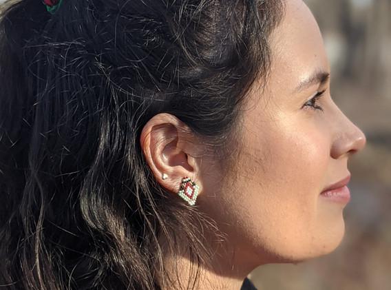 Mini Stud Earrings