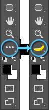 Banana in Toolbar.png