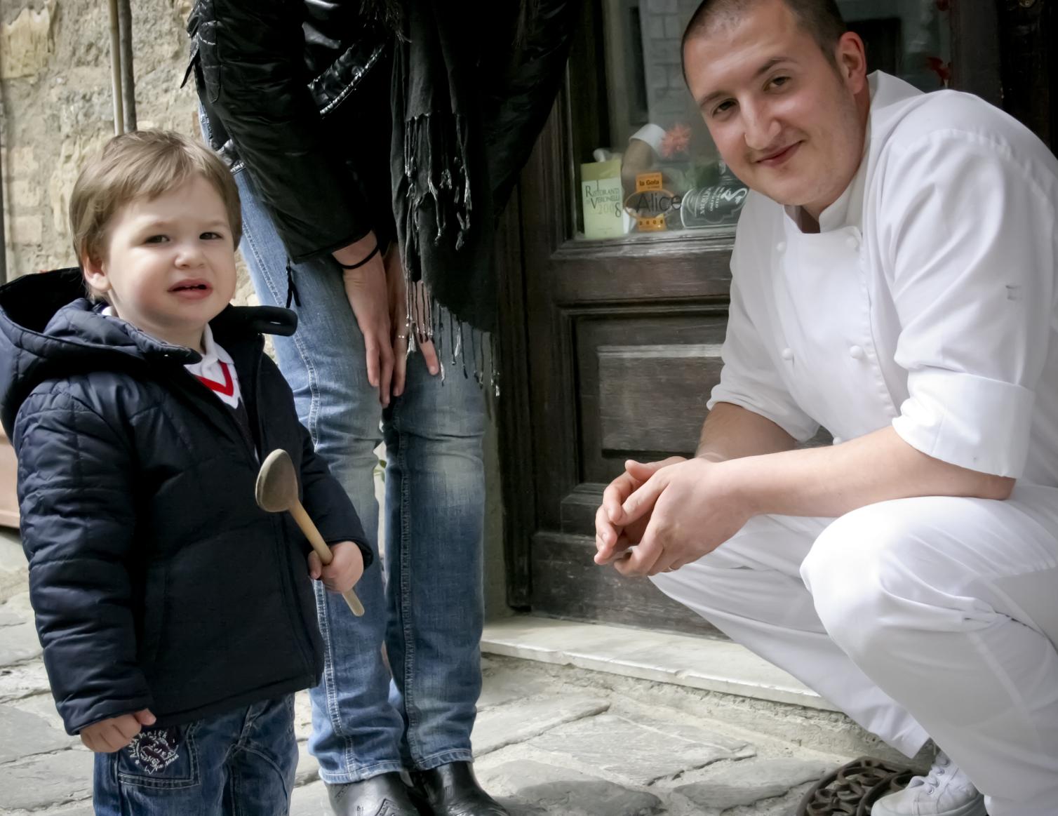 Luca Tognazzi e Figlio