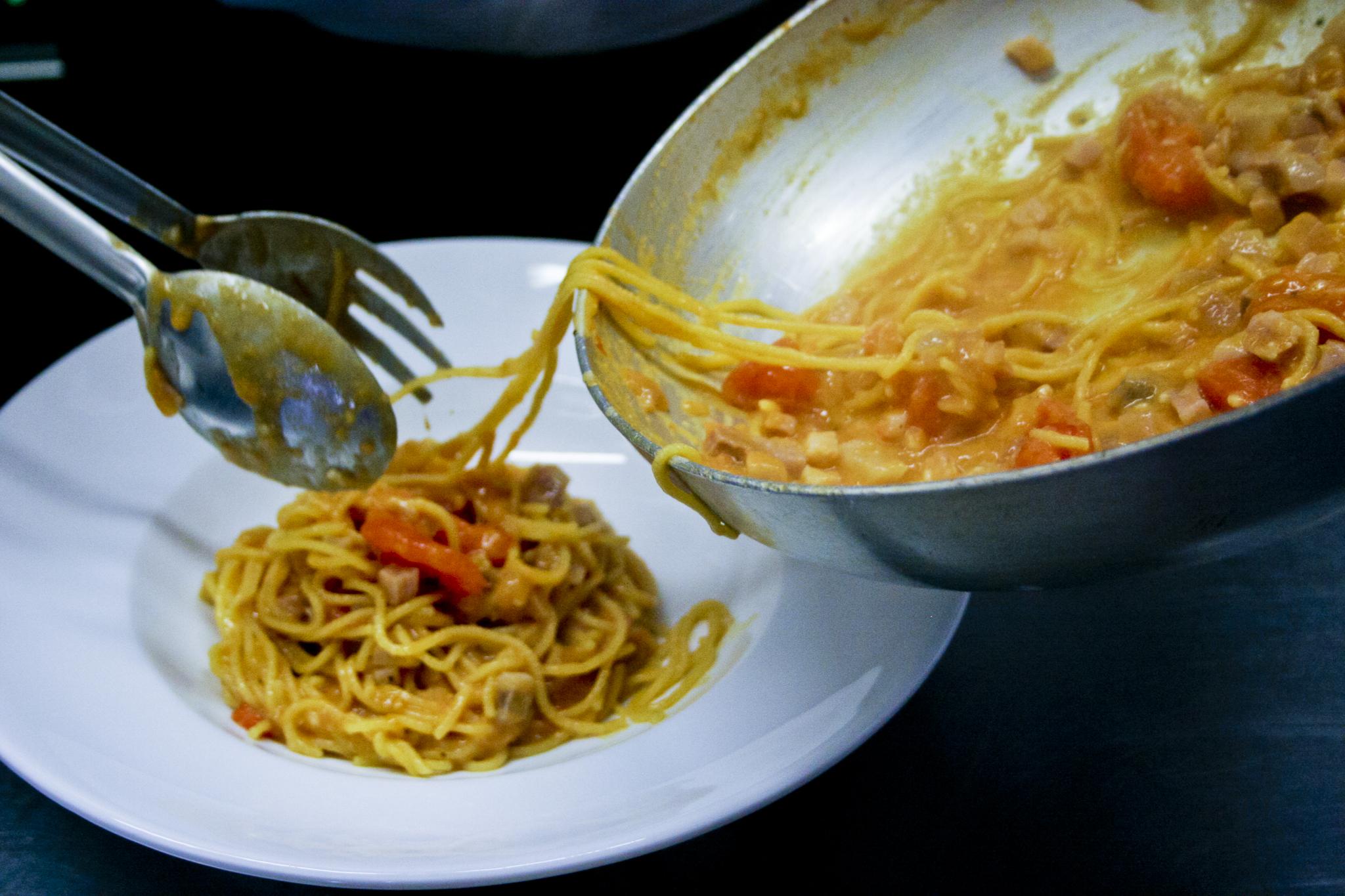 Spaghettini fatti in casa