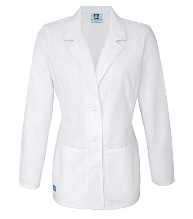 Woman's White Coat