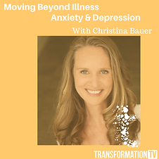 Christina Bauer Moving Beyond Illness, A