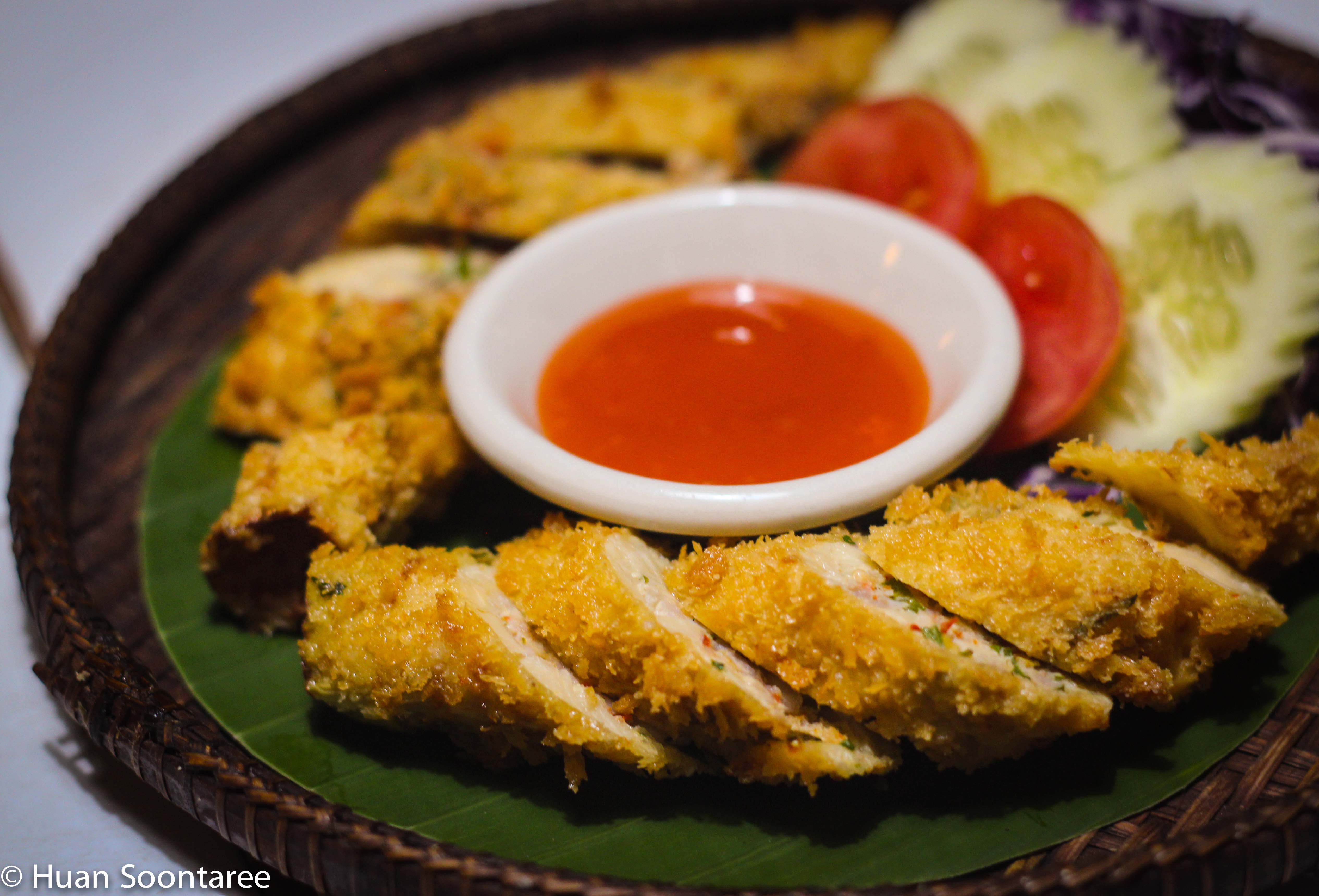06 Stuffed bamboo shoots tempura