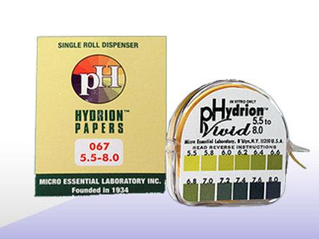 pH Paper Roll