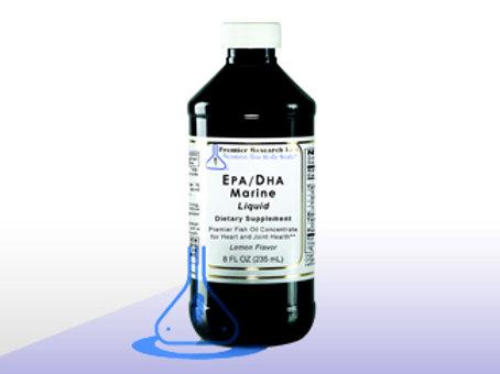 EPA/DHA Marine Liquid 8 fl/oz bottle
