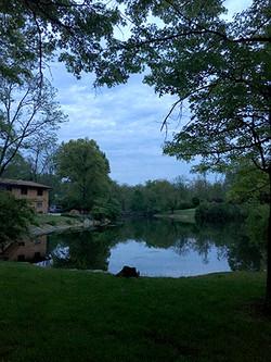 Twilight at Pleroma Lake