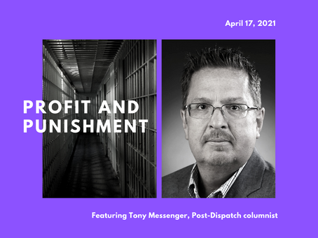 April program features Tony Messenger, P-D columnist