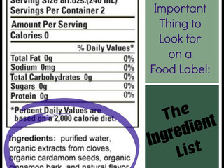 How to Read Ingredient Labels!