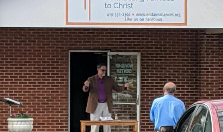 Drive-In Church, May 3, 2020