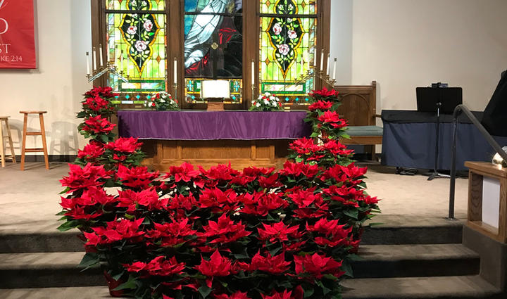 Sanctuary at Christmas 2019