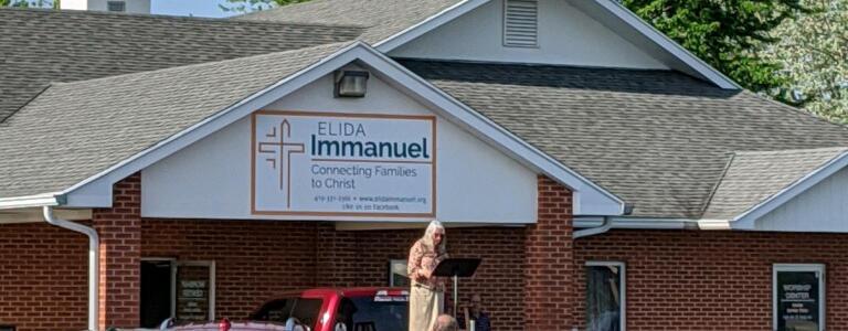 Drive-In Church, May 24, 2020