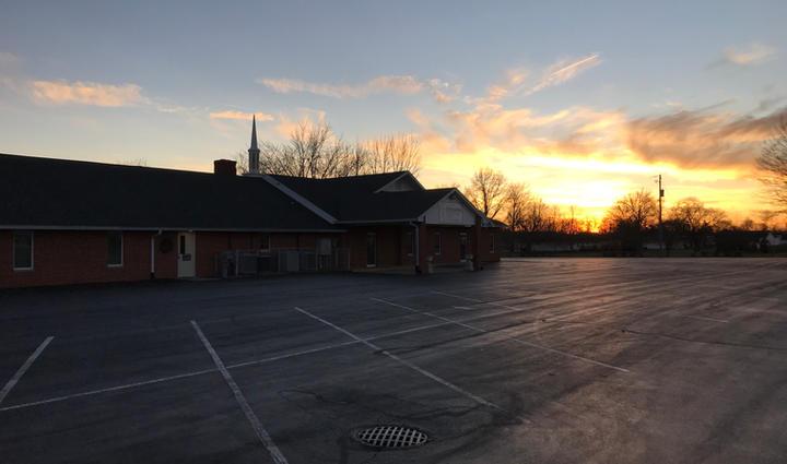 Sunset over Elida Immanuel