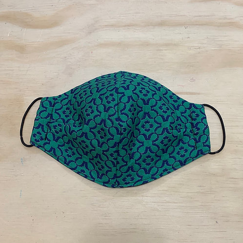 Green Shamrock Mask