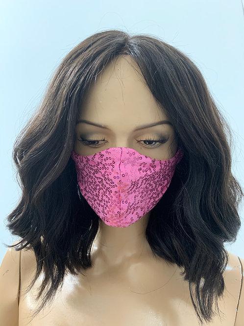 Rose pink Mask